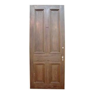 Chestnut & Cypress Door