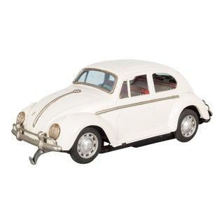Taiyo Japan Vw Tin Toy Beetle C.1960 For Sale