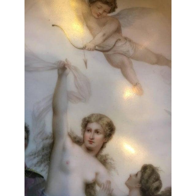 "Late 19th Century ""Triumph der Venus"" Royal Vienna Platter For Sale - Image 5 of 7"