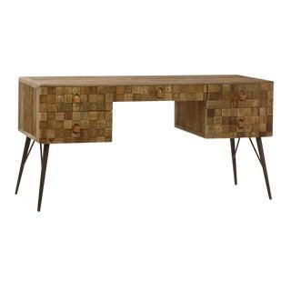 Reclaimed Wood Patchwork Desk