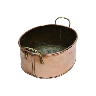 Antique English Copper Planter / Pot