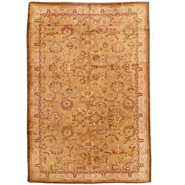 Antique English Axminster carpet. Contact dealer. Excellent condition.