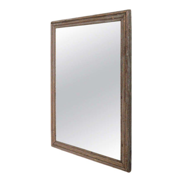 French Mercury Mirror with Wooden Back - Image 1 of 11