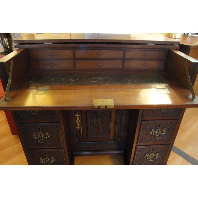 George II Style Mahogany Desk - Image 3 of 8