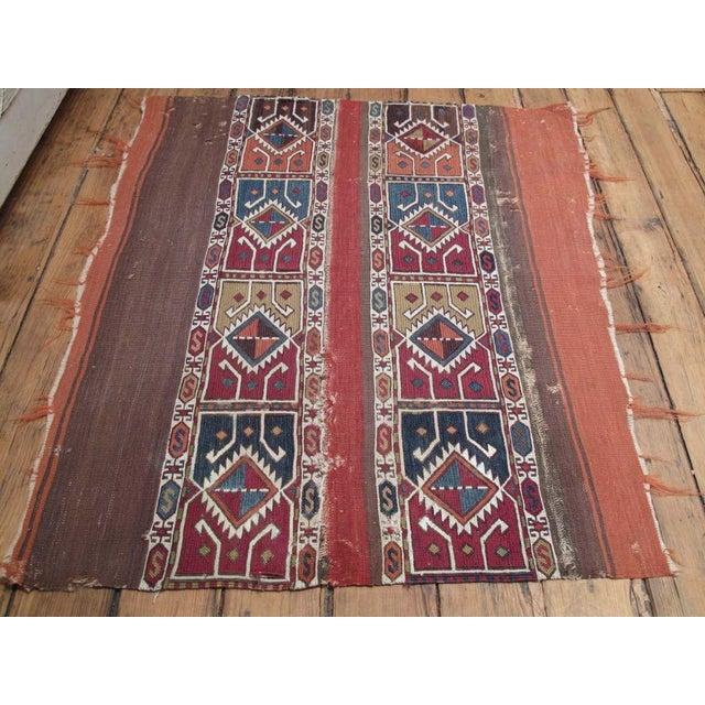 "Primitive Antique ""Grain Sack"" (open) For Sale - Image 3 of 7"