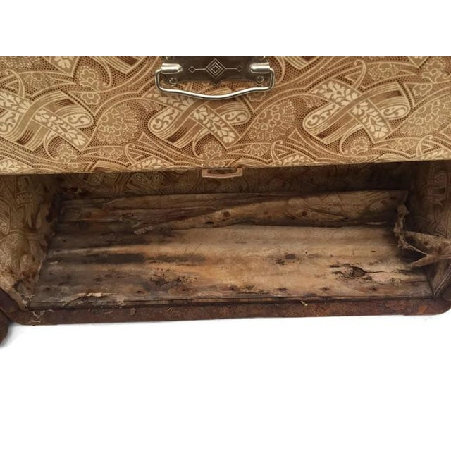 Antique Wardrobe Steamer Trunk - Selfridges of London - Image 8 of 9