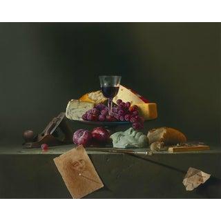 """Last Supper?"" Contemporary Still Life Giclee by Dario Campanile For Sale"