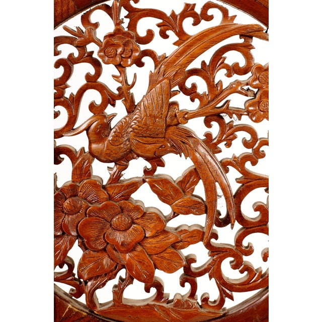 Asian Vintage Chinese Fretwork Panel For Sale - Image 3 of 5