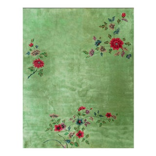 Chinese Art Deco Rug-8′8″ × 11′4″ For Sale