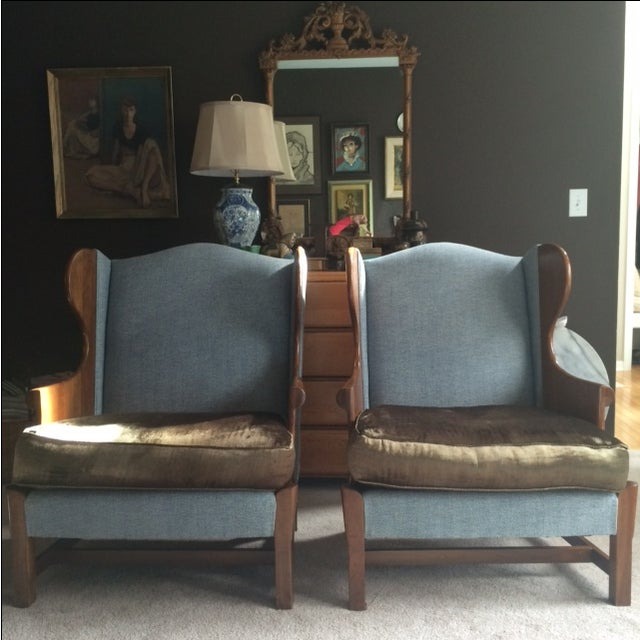 Two Stickley chairs from their Colonial Collection early 80s. This was the collection that got them through the recession!...