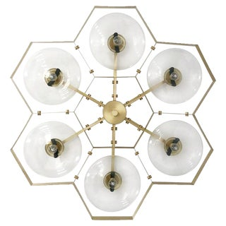 Hive Flush Mount by Fabio Ltd For Sale