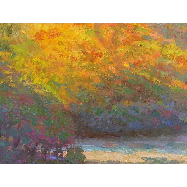Robert Longley Rob Longley, Autumn Afternoon, Beech Forest Pond, 2013 For Sale - Image 4 of 8