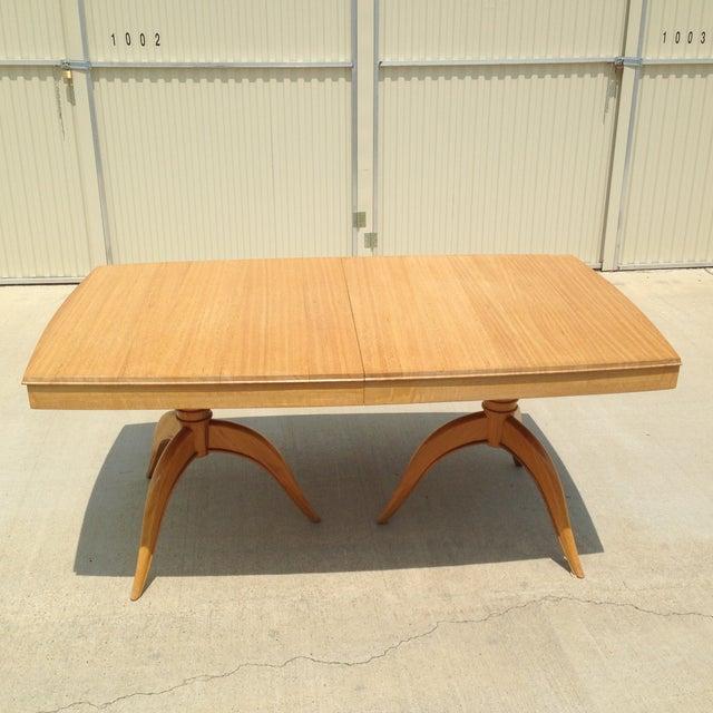 Brown Saltman Gilbert Rohde Dining Table - Image 2 of 5