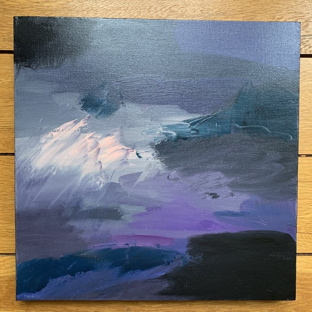 Original Abstract Painting on Canvas For Sale In Cincinnati - Image 6 of 6