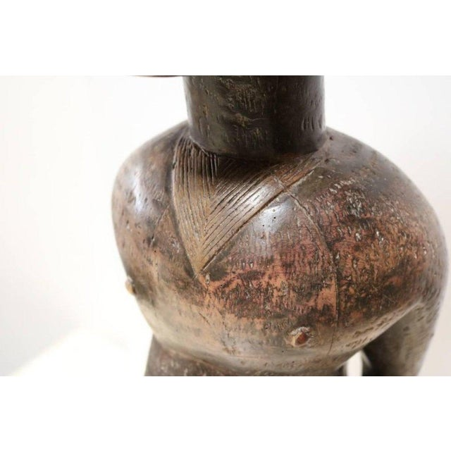 """""""Fertility"""" African Sculpture by the Lobi People For Sale - Image 9 of 12"""