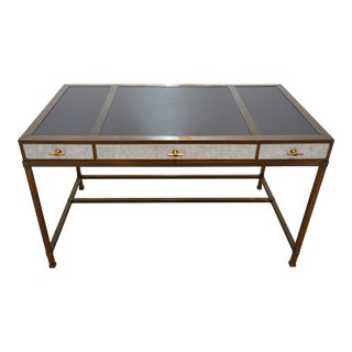 Contemporary Lacquer Company Gambrel Desk For Sale