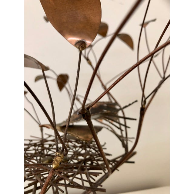 1968 Curtis Jere Birds in Tree Nest Sculpture For Sale In San Francisco - Image 6 of 7