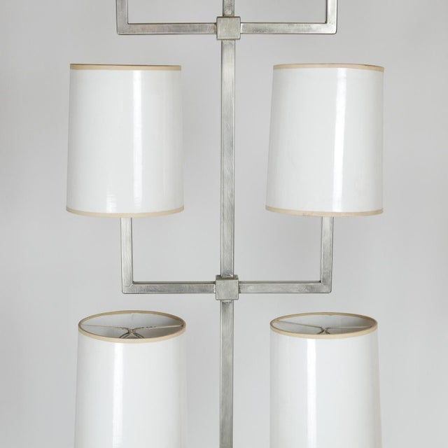 1960s Very Rare Limited Production Tommi Parzinger Floor Lamp for Lightolier For Sale - Image 5 of 12
