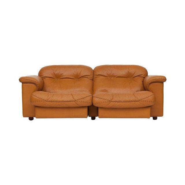 De Sede Adjustable Ds 101 Sofa in Brown Leather by De Sede For Sale - Image 4 of 11