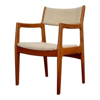 Danish Modern Teak Midcentury Desk Chair
