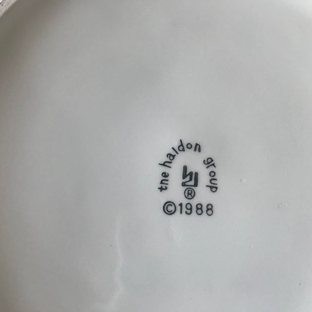 1980s Ceramic Cabbage Bowl For Sale - Image 9 of 10