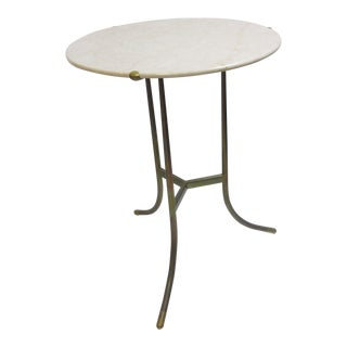 Cedric Hartman Side Table in Crema Marble