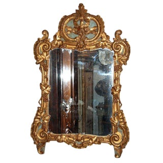 18th Century Regency Carved Giltwood Mirror