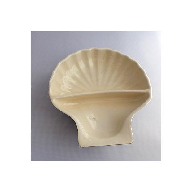 Vintage Nautical Porcelain Clamshell Serving Dish - Image 2 of 7