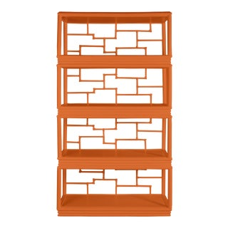 Tibet Etagere - Orange For Sale