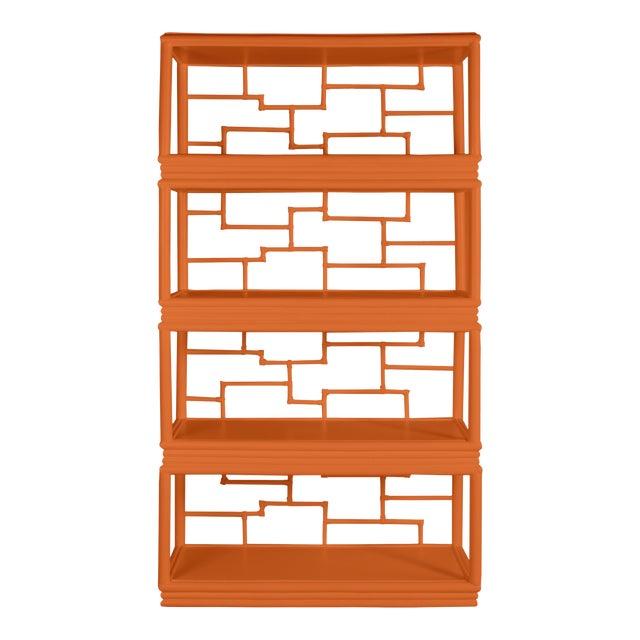 Tibet Etagere - Orange For Sale