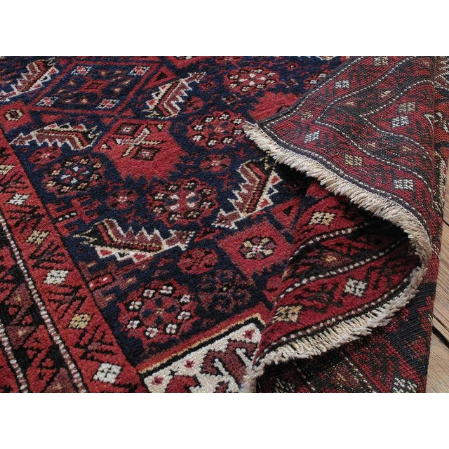 Textile Antique Baluch Rug For Sale - Image 7 of 8