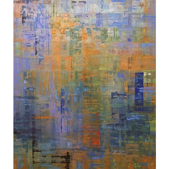 Abstract Ned Martin, Nocturne (Diptych), 2018 For Sale - Image 3 of 10