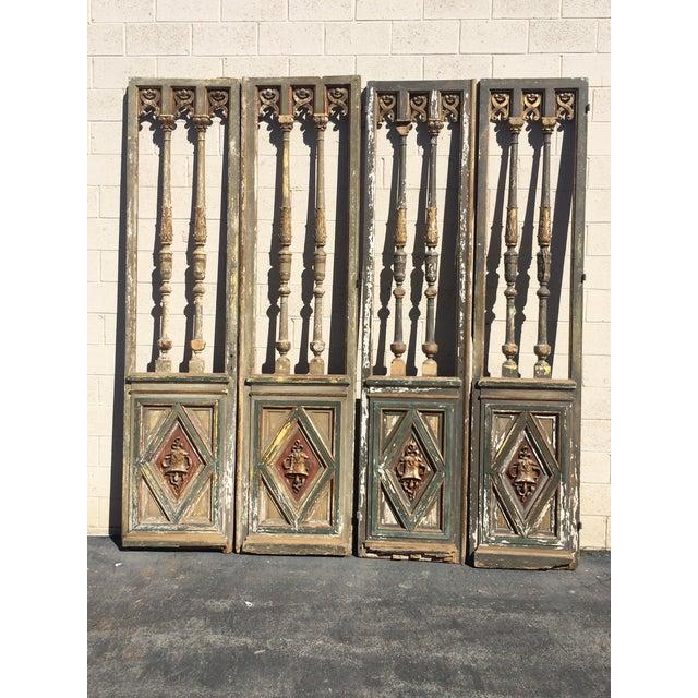 1820's French Double Door Screen - Image 2 of 8
