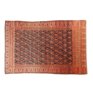 "Antique Mission Malayer Rug - 4'4"" X 6'6"" For Sale"