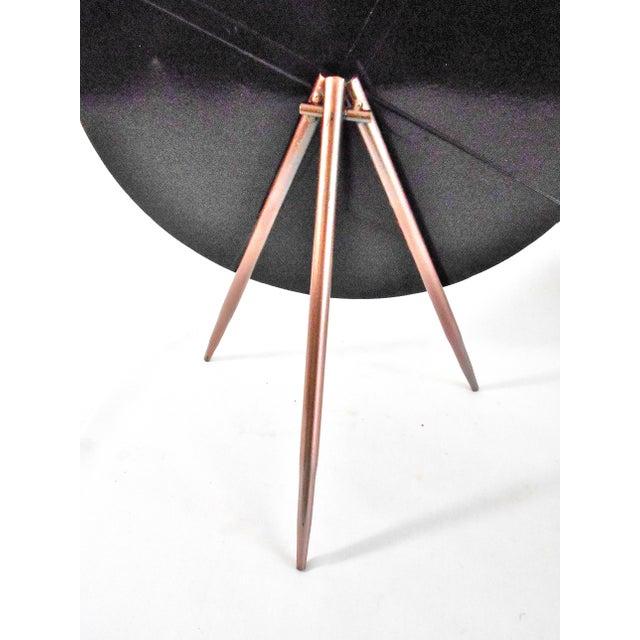 Mid-Century Modern Tripod Tabletop Mirror - Image 6 of 6