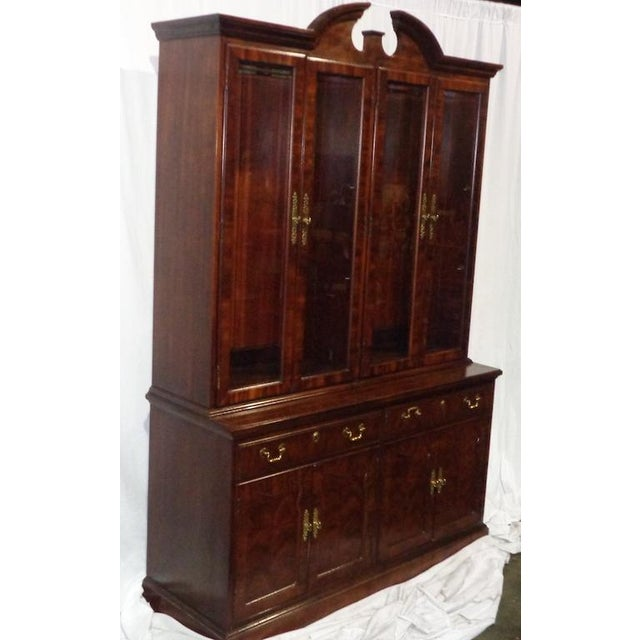 Thomasville Mahogany China Cabinet - Image 3 of 6