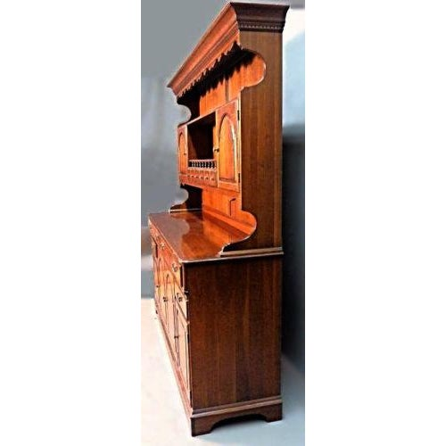 American Pennsylvania House Early American Cherry Hutch For Sale - Image 3 of 10