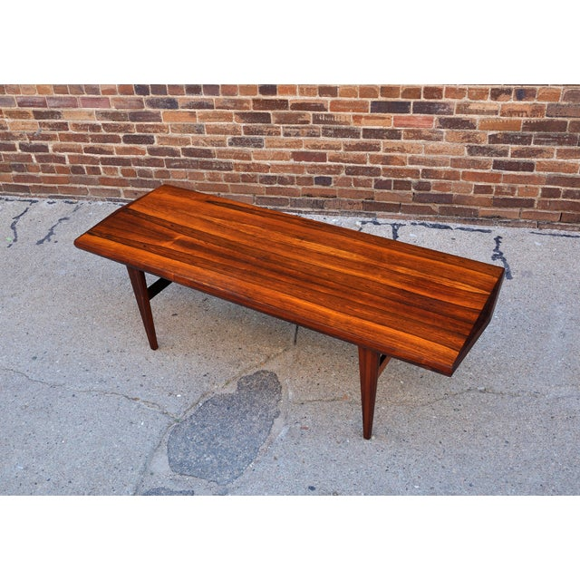 Mid-Century Danish Rosewood Coffee Table - Image 6 of 8