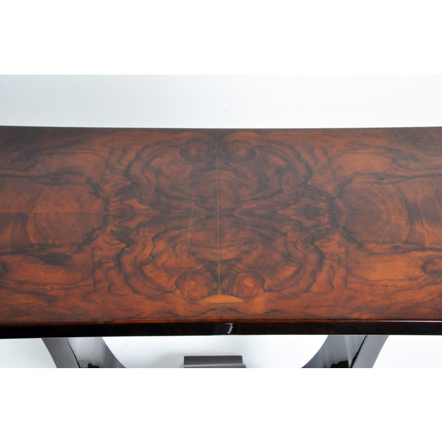 Veneer Hungarian Art Deco Style Table For Sale - Image 7 of 11