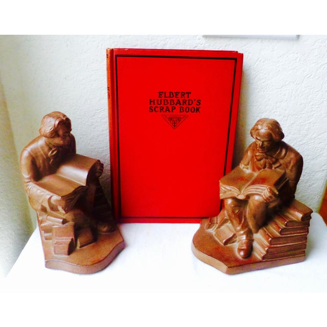 Elbert Hubbard Bookends - Image 3 of 11