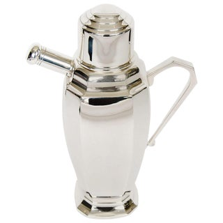 20th Century Silver Plate Cocktail Shaker For Sale