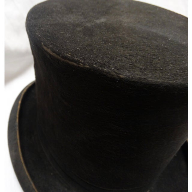 1900s Beaver Top Hat - Image 4 of 4