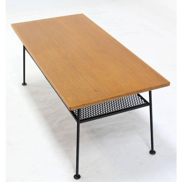 Mid-Century Modern Mid-Century Modern Coffee Table by Mattieu Mategot For Sale - Image 3 of 8