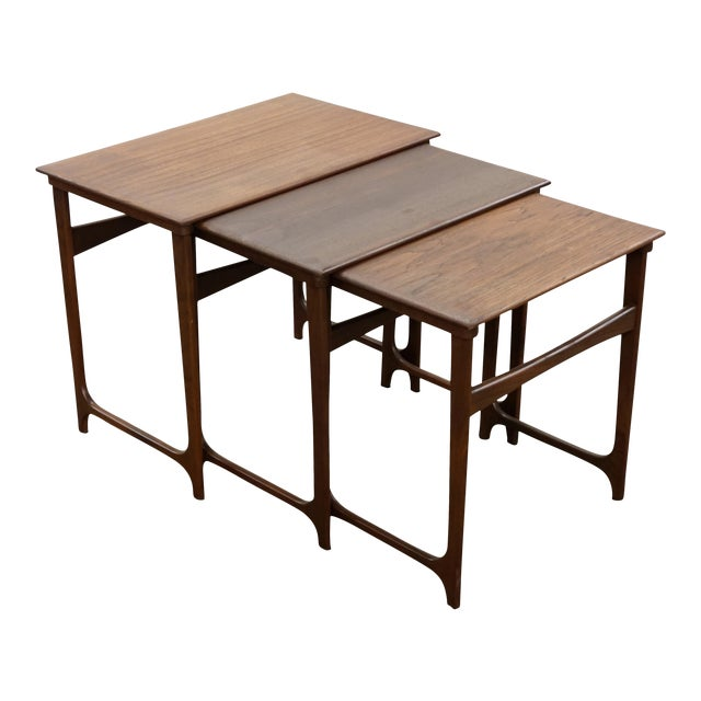 "Danish Modern Nesting Tables - ""Taastrup"" For Sale"