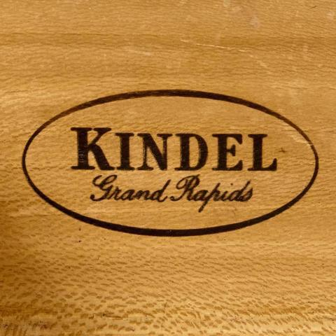Cherry Wood Kindel Furniture Co. Cherry Wood Tall Dresser For Sale - Image 7 of 10