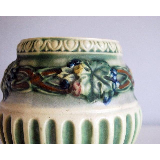 1920s Roseville Pottery Corinthian Jardeniere Planter Vase - Image 3 of 6