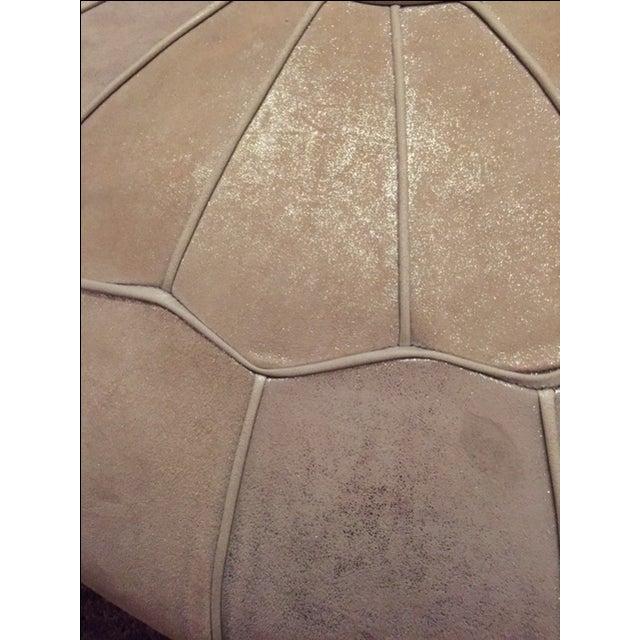 Sophie Nova Leather Pouf - Image 4 of 4