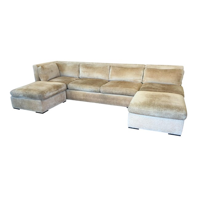 Kreiss 4-Piece Beige Sectional - Image 1 of 10