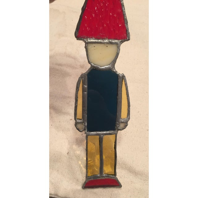 Stained Glass Nutcracker Toy Soldier For Sale - Image 5 of 6