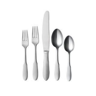 Georg Jensen Scandinavian Mitra Cutlery Giftbox - 5 Piece Set For Sale